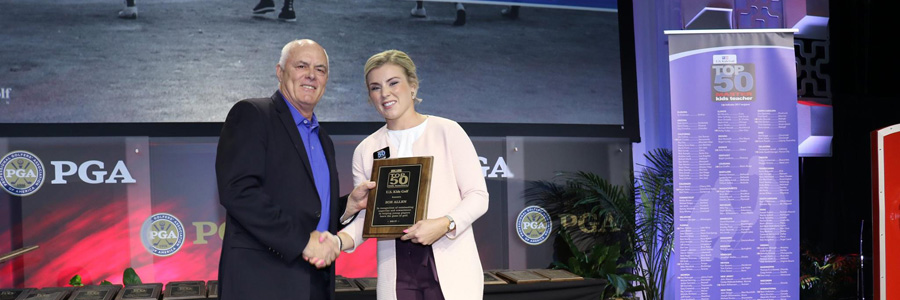 Zoe to receive US Kids Master Coach award