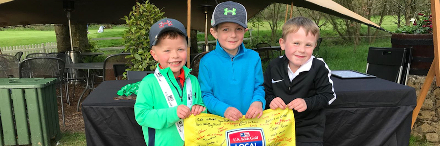 US Kids Golf North of Ireland Local Tour Galgorm Castle Tee Times
