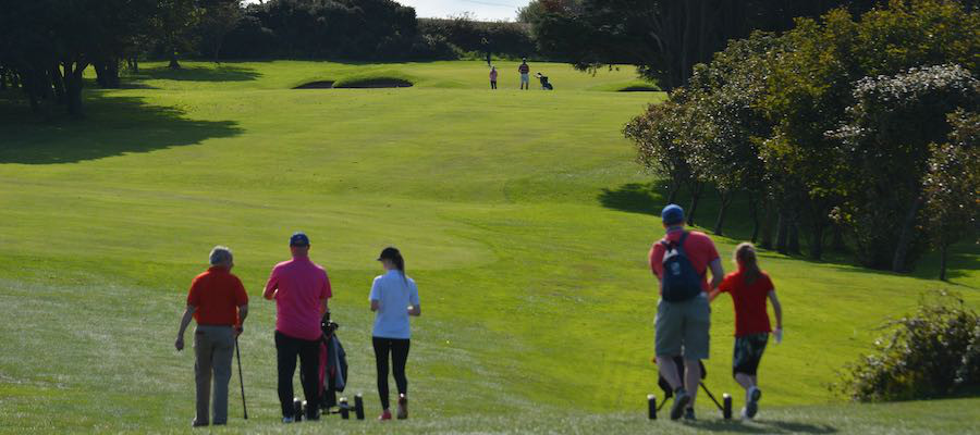 Photos from the US Kids 2020 North of Ireland Fall Tour - Donaghadee Golf Club