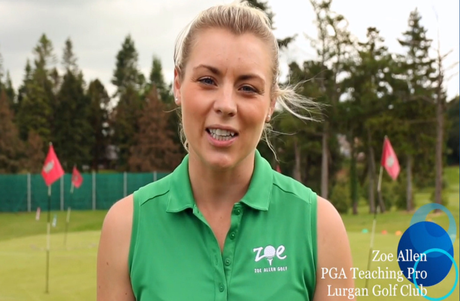 Zoe will be teaching at The Open Championship Swingzone in Portrush